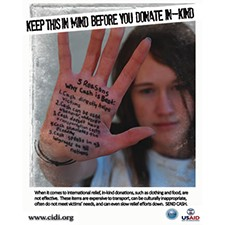 Keep This In Mind Before You Donate In-Kind