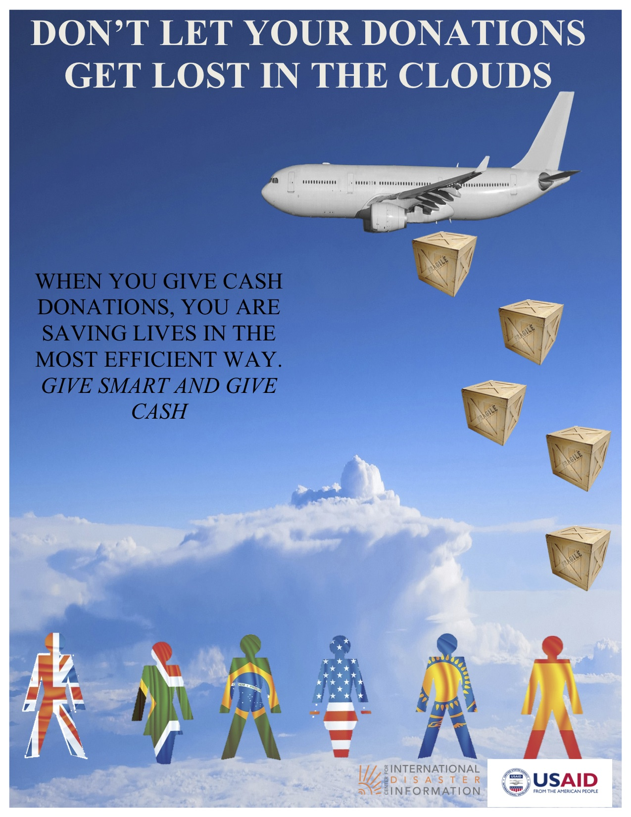 Don't Let Your Donations Get Lost in the Clouds