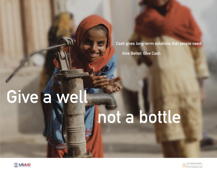 Give a Well, Not a Bottle