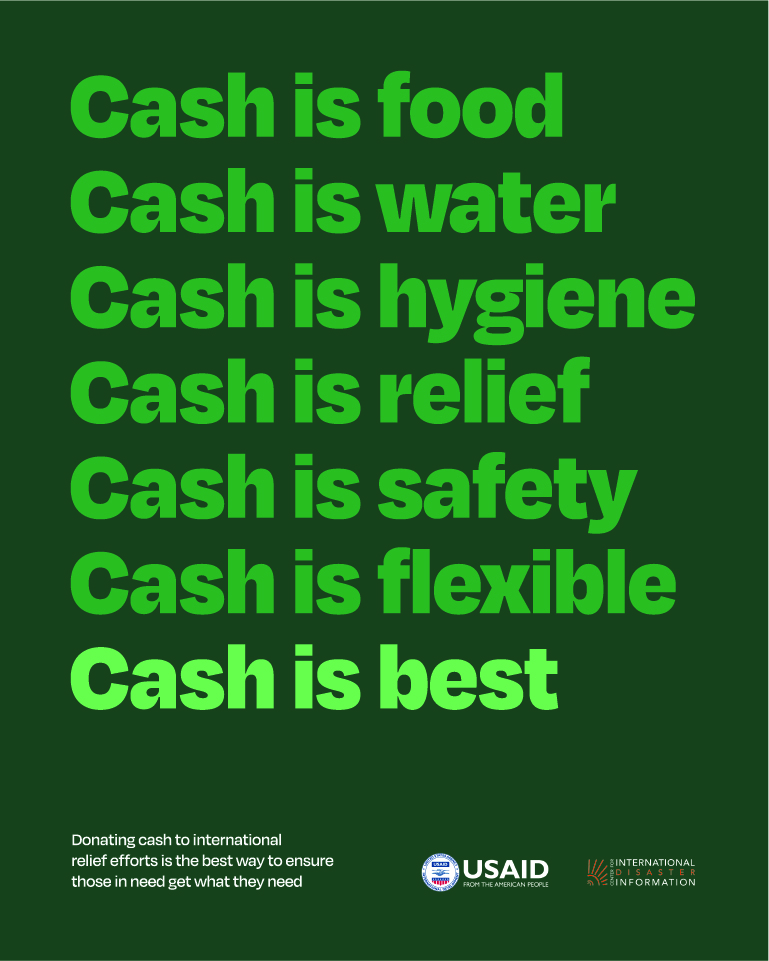 Cash is Best